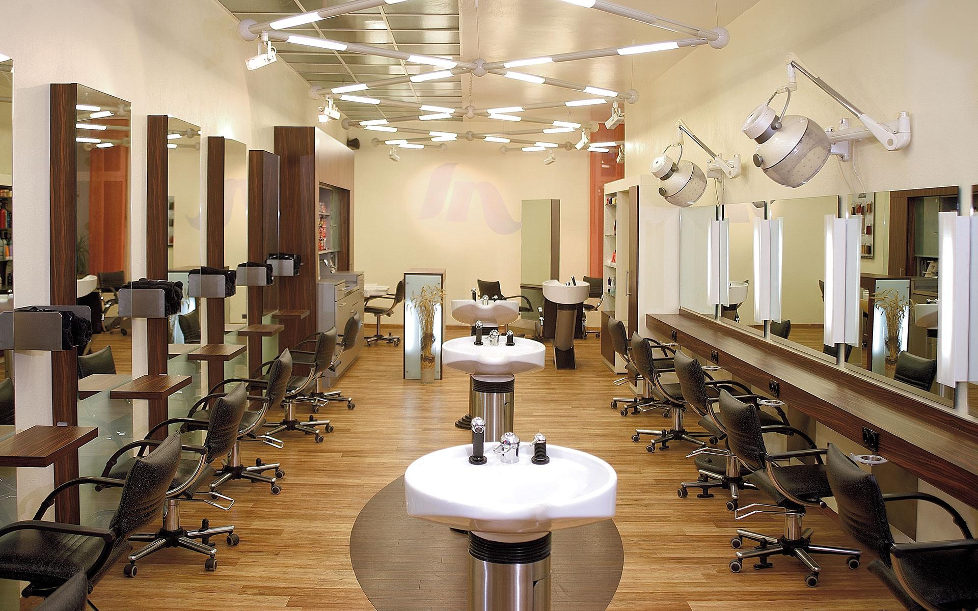 vintage friseur salon moderne m nnliche und weibliche. Black Bedroom Furniture Sets. Home Design Ideas